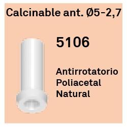 Calcinable Ant. Héxagono Externo Ø 5-2.7