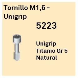 Tornillo M1.6 - Unigrip Héxagono Externo