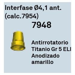 Interfase Ø 4.1 Ant. (calc.7954) Hexagono Externo