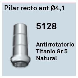 Pilar Recto Ant. Ø 4.1 Héxagono Externo