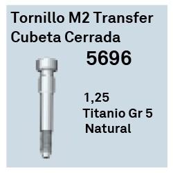 Tornillo M2 Transfer Cubeta Cerrada Hexágono Externo