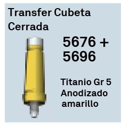 Transfer Cubeta Cerrada Héxagono Externo