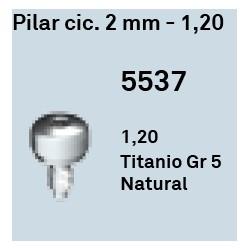 Pilar Cic. 2 mm - 1.20 Hexágono Externo