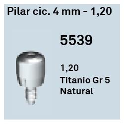 Pilar Cic. 4 mm - 1.20 Hexágono Externo