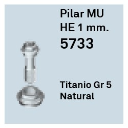 Pilar Multi - Unit 1 Héxagono Externo