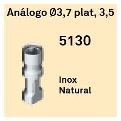 Análogo Ø 3.7 Plat, 3.5 Hexágono Interno
