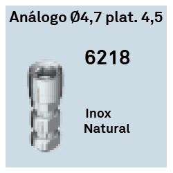 Análogo Ø 4.7 Plat, 4.5 Hexágono Interno
