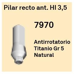 Pilar Recto Ant. 3,5 Hexágono Interno