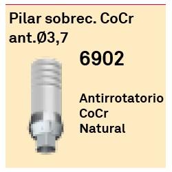 Pilar Sobrec. CoCr Ant. Ø 3.7 Hexágono Interno