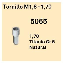 Tornillo M1,8 - Ø 4.2 Héxagono Alto