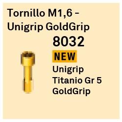 Tornillo M1.6 - Unigrip GoldGrip Héxagono Externo