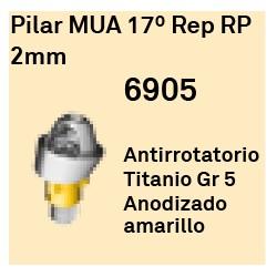 Pilar MUA 17º Rep RP - 2mm Cónica Externa