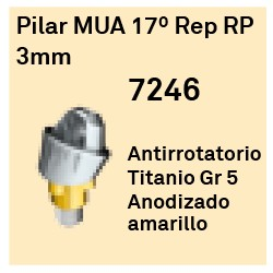 Pilar MUA 17º Rep RP - 3mm Cónica Externa