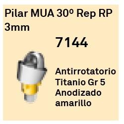 Pilar MUA 30º Rep RP - 3mm Cónica Externa