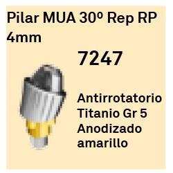 Pilar MUA 30º Rep RP - 4 mm Cónica Externa