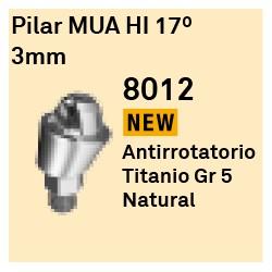Pilar MUA HI 17º - 3 mm Cónica Externa