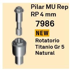 Pilar MU Rep RP - 4 mm Cónica Externa