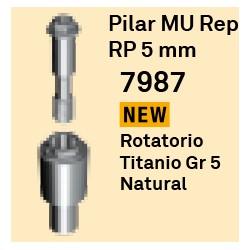Pilar MU Rep RP - 5 mm Cónica Externa