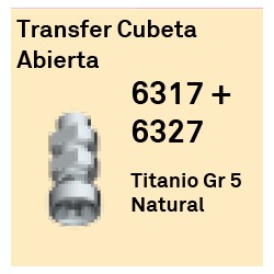 Transfer Cubeta Abierta Cónica Externa