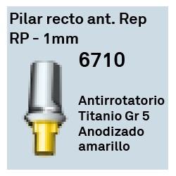 Pilar Recto Ant. Rep RP 1 mm Trilobulada Interna