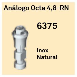 Análogo Octa 4.8 RN Octógono Interno