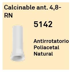 Calcinable Ant. 4.8 RN Octógono Interno