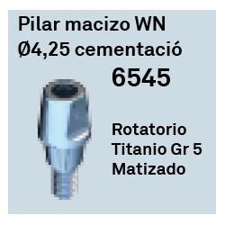 Pilar Macizo WN Ø 4.25 Cementación Octógono Interno