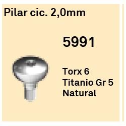 Pilar Cic. 2.0 mm Octógono Interno