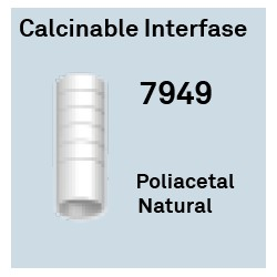 Calcinable Interfase Ant. Ø 4.3 Octógono Interno