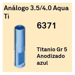 Análogo 3,5/4,0 Aqua Ti Cónica Interna