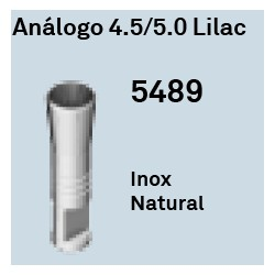 Análogo 4,5/5,0 Lilac Cónica Interna