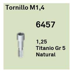 Tornillo M1,4 Cónica Interna