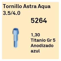 Tornillo Astra Aqua 3,5/4,0 Cónica Interna