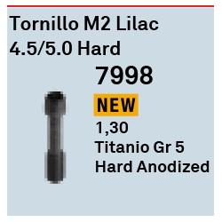 Tornillo M2 Lilac 4,5/5,0 Hard Cónica Interna