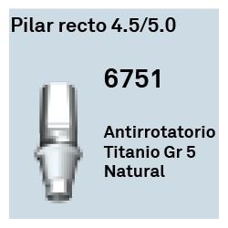 Pilar Recto 4.5/5.0 Cónica Interna
