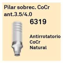 Pilar Sobrec. CoCr Ant. 3.5/4.0 Cónica Interna