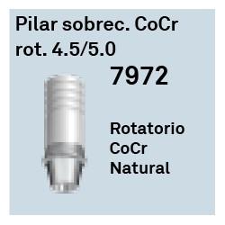 Pilar Sobrec. CoCr Rot. 4.5/5.0 Cónica Interna