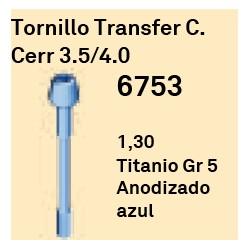 Tornillo Transfer C.Cerrada 3.5/4.0 Cónica Interna