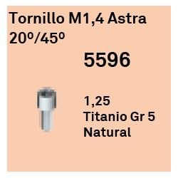 Tornillo M1,4 20º Cónica Externa