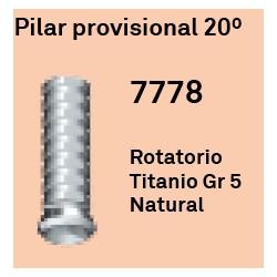 Pilar Provisional 20º Cónica Externa