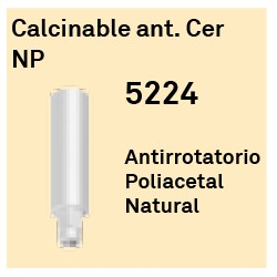 Calcinable Ant. Cer NP Hexágono Interno