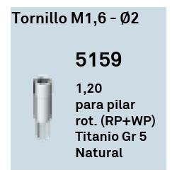 Tornillo M1,6 - Ø 2 Hexágono Interno
