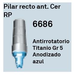 Pilar Recto Ant. Cer RP Hexágono Interno