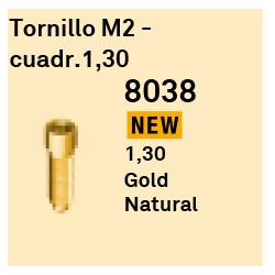 Torn. M2 Cuadr.1,30 GoldGrip Héxagono Externo