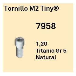 Tornillo M2 Tiny Hexágono Externo