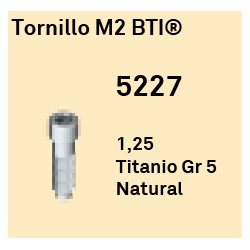 Tornillo M2 BTI Hexágono Externo