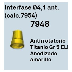 Interfase Ø 4.1 Ant. (calc.7954) Hexagono Externo