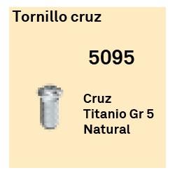 Tornillo Cruz Héxagono Alto