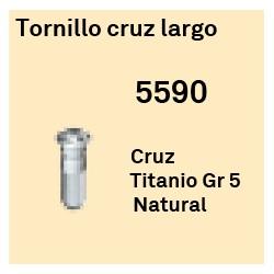 Tornillo Cruz Largo Héxagono Alto