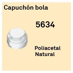 Capuchon Bola Héxagono Alto